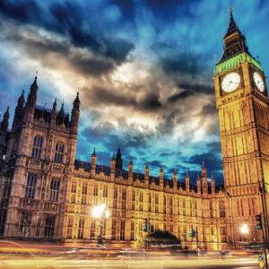 Posters Skleněný Obraz Londýn - Big Ben