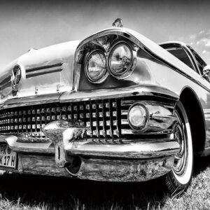 Posters Skleněný Obraz Auta - Retro Cadillac