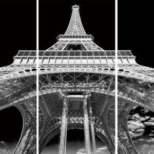Posters Skleněný Obraz Paříž - Pod Eiffelovou věží