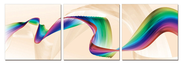 Posters Obraz Moderní design - duha