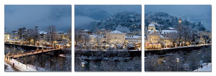 Posters Obraz Karlovy Vary - čas Vánoc