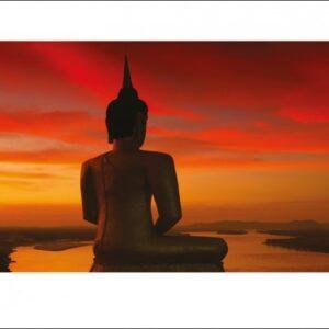 Posters Reprodukce Stuart Miekle - Sun Setting over the Mekong
