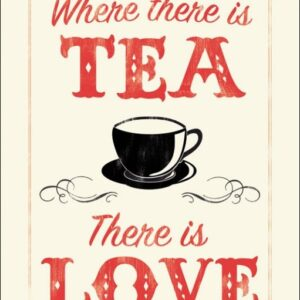Posters Reprodukce Anthony Peters - Where There is Tea There is Love