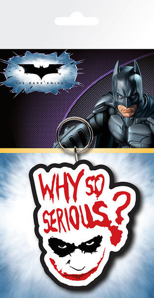 Posters Klíčenka Batman: Temný rytíř - Joker Serious - Posters
