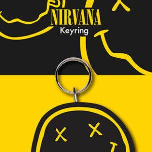 Posters Klíčenka Nirvana - Smiley - Posters