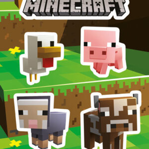 Posters Samolepka Minecraft - Animals - Posters