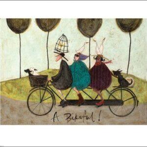 Posters Reprodukce Sam Toft - A Bikeful!
