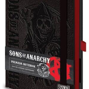 Posters Sons of Anarchy (Zákon gangu) - Premium A5 Notebook Psací potřeby - Posters