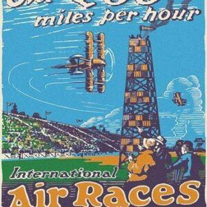 Posters Plechová cedule St. Louis Air Races