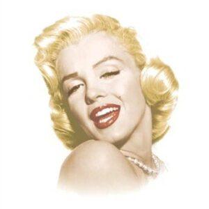 Posters Plechová cedule Marylin Monroe - Eternal Beauty