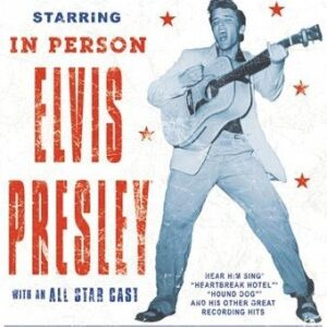 Posters Plechová cedule Elvis Presley - Show