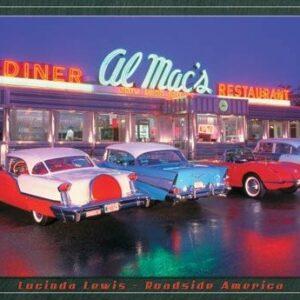 Posters Plechová cedule Lewis - Al Mac Diner