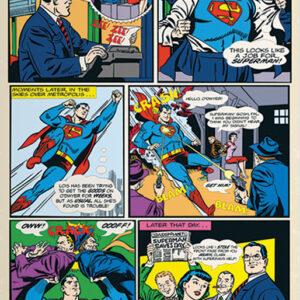 Posters Fototapeta Superman komiks