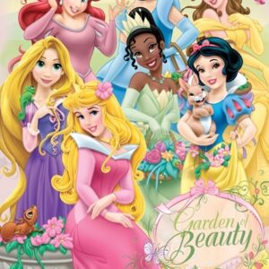 Posters Fototapeta Disney Princezny