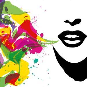 Posters Fototapeta Talking Colours