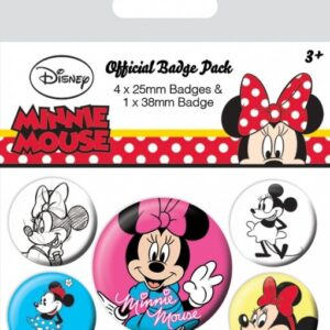 Posters Placka Minnie Mouse - Through The Ages - Posters