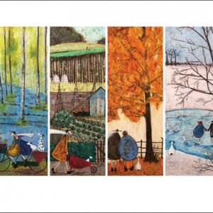 Posters Reprodukce Sam Toft - Which is Your Favourite Season?