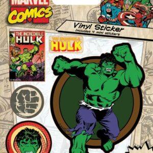 Posters Samolepka Marvel Comics - Hulk Retro - Posters