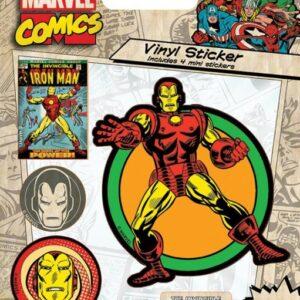 Posters Samolepka Marvel Comics - Iron Man Retro - Posters