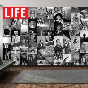 Posters Fototapeta Life - black and white