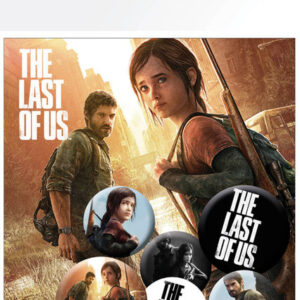 Posters Placka The Last of Us - Ellie And Joel - Posters