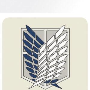 Posters Podtácek Attack On Titan (Shingeki no kyojin) - Badge - Posters