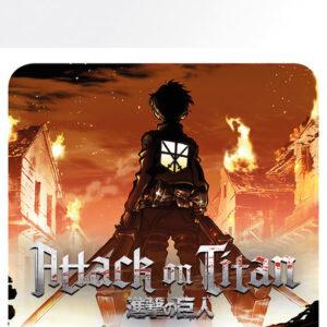 Posters Podtácek Attack On Titan (Shingeki no kyojin) - Keyart - Posters
