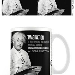 Posters Hrnek Einstein - Imagination - Posters