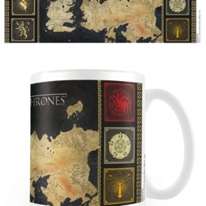 Posters Hrnek Hra o Trůny (Game of Thrones) - mapa - Posters