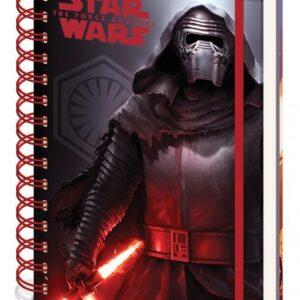 Posters Star Wars VII: Síla se probouzí - Dark A5 Notebook Psací potřeby - Posters