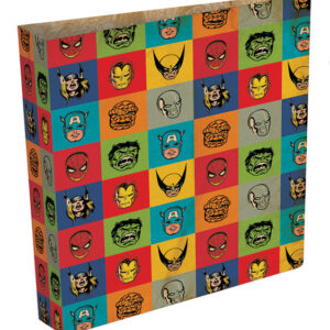 Posters Marvel Retro - Faces ring binder Psací potřeby - Posters