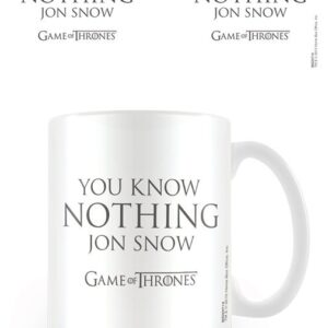 Posters Hrnek Hra o Trůny (Game of Thrones) - You Know Nothing Jon Snow - Posters
