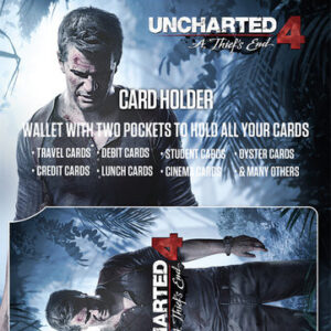 Posters Uncharted 4 - Keyart Pouzdro na karty - Posters