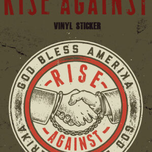 Posters Samolepka Rise Against - Shaking Hands - Posters