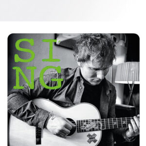Posters Podtácek Ed Sheeran - Close up - Posters