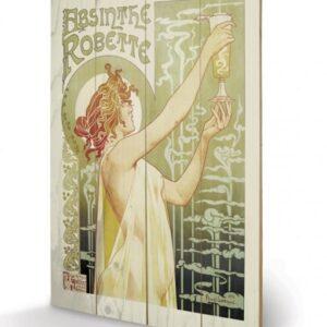 Posters Obraz na dřevě - Absinthe Robette