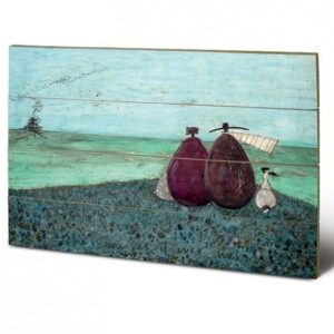 Posters Obraz na dřevě - Sam Toft - The Same as it Ever Was