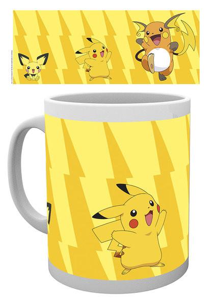 Posters Hrnek Pokémon - Pikachu Evolve - Posters