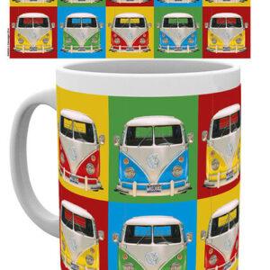 Posters Hrnek VW Volkswagen Camper - Campers colours p. - Posters