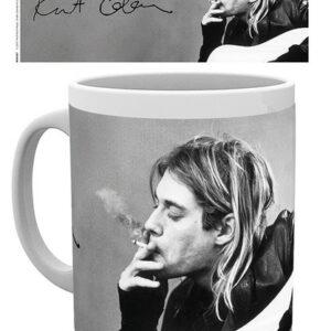 Posters Hrnek Kurt Cobain - Smoking - Posters