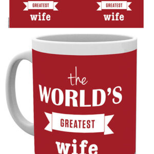 Posters Hrnek Worlds Greatest Wife - Posters