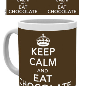 Posters Hrnek Keep Calm and Eat Chocolate - Posters