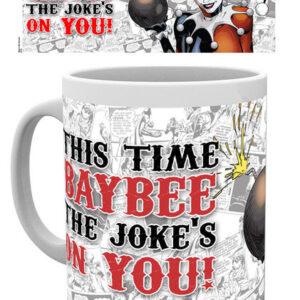Posters Hrnek Batman Comics - Harley Quinn Jokes On You - Posters