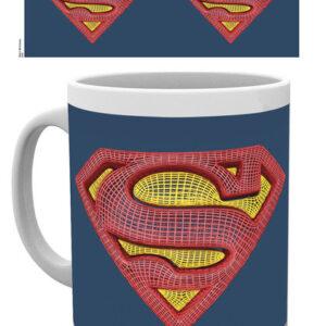 Posters Hrnek DC Comics - Superman Mesh Logo - Posters