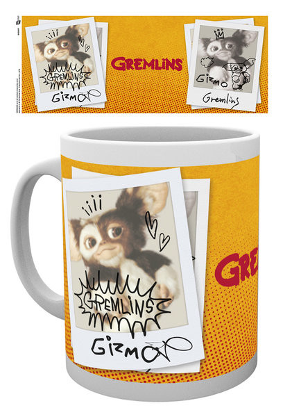 Posters Hrnek Gremlins - Polaroid Gizmo - Posters