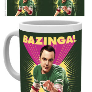 Posters Hrnek The Big Bang Theory (Teorie velkého třesku) - Sheldon Bazinga - Posters