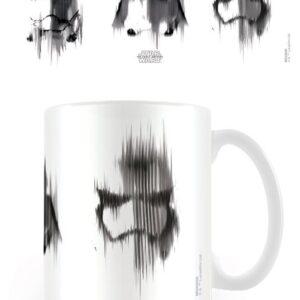 Posters Hrnek Star Wars VII: Síla se probouzí - Helmet Lines - Posters