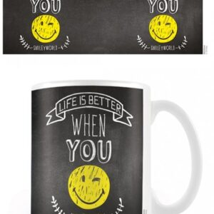 Posters Hrnek Smiley - World Smiles WIth You - Posters