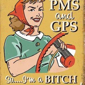Posters Plechová cedule Schonberg - PMS & GPS