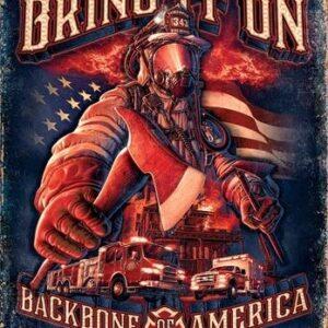 Posters Plechová cedule Fire Fighters - Bring It
